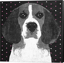 Beagle By Posters International Studio Canvas Art