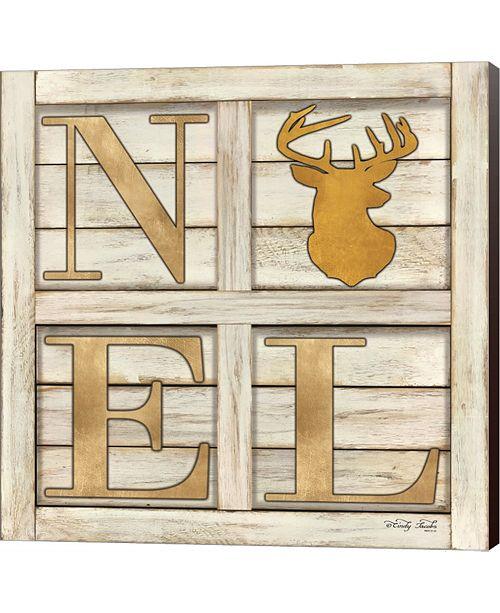 Metaverse Noel Deer By Cindy Jacobs Canvas Art
