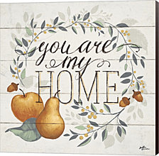 Our Home I by Janelle Penner Canvas Art