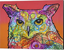 Red Owl by Dean Russo Canvas Art