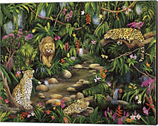 Exotic Jungle by Betty Lou Canvas Art