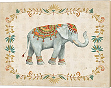Elephant Walk II by Daphne Brissonnet Canvas Art