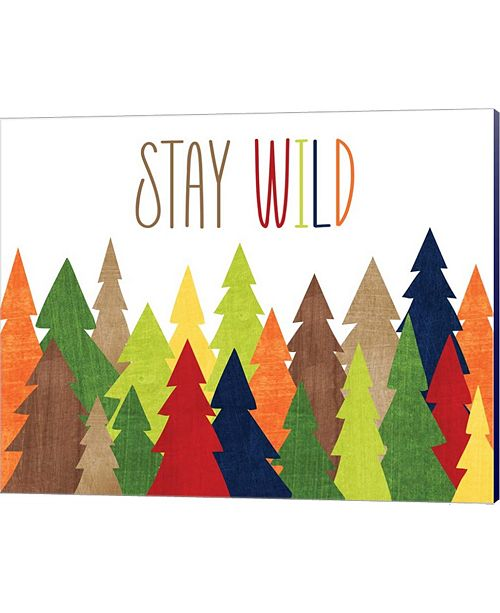 Metaverse Stay Wild By Alli Rogosich Canvas Art