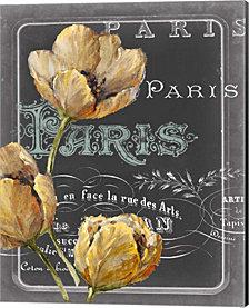 Chalkboard Paris II by Studio W Canvas Art