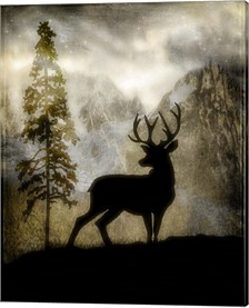 Mystic Deer By Lightboxjournal Canvas Art