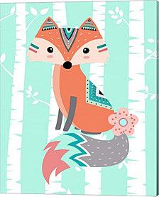Tribal Fox Girl II by Tamara Robinson Canvas Art