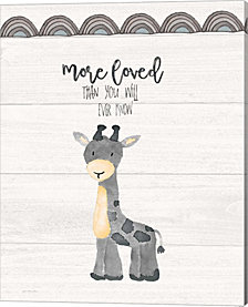 More Loved by Jo Moulton Canvas Art