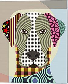 Great Dane Dog By Lanre Adefioye Canvas Art