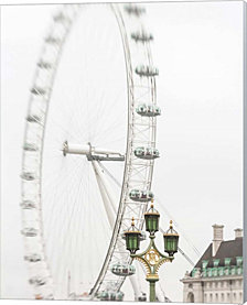 London Eye II by Keri Bevan Canvas Art