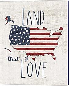 Land I Love by Jo Moulton Canvas Art