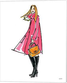Colorful Fashion III by Anne Tavoletti Canvas Art