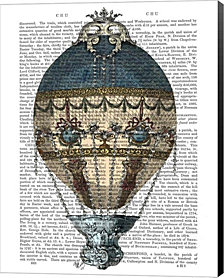 Baroque Fantasy Balloon 1 by Fab Funky Canvas Art