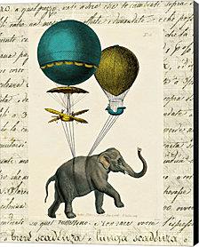 Elephant Ride I by Sue Schlabach Canvas Art