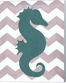 Seahorse By Artpoptart Canvas Art