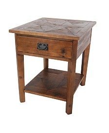 Alaterre Furniture Revive - Reclaimed End Table, Natural