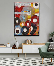 Ready2HangArt 'Color Wheels II' Colorful Abstract Canvas Wall Art Collection