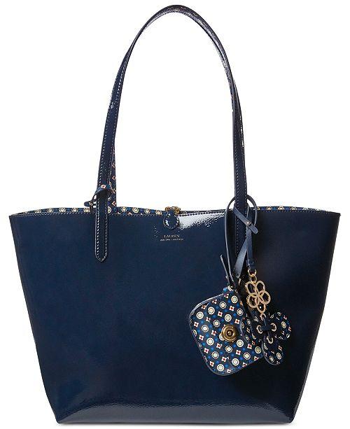 Lauren Ralph Lauren Merrimack Reversible Tote   Reviews - Handbags ... dcf3d5379aba9