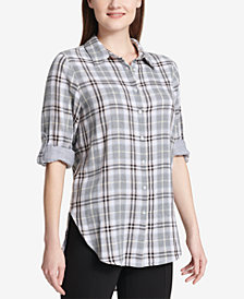 Calvin Klein Plaid Shirt