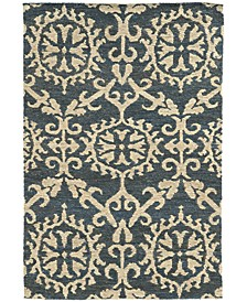 Home  Valencia 57704 Navy/Beige Area Rug