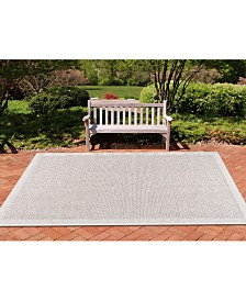 "CLOSEOUT! KM Home Croix Indoor/Outdoor 2'4"" x 7'3"" Runner Area Rug"