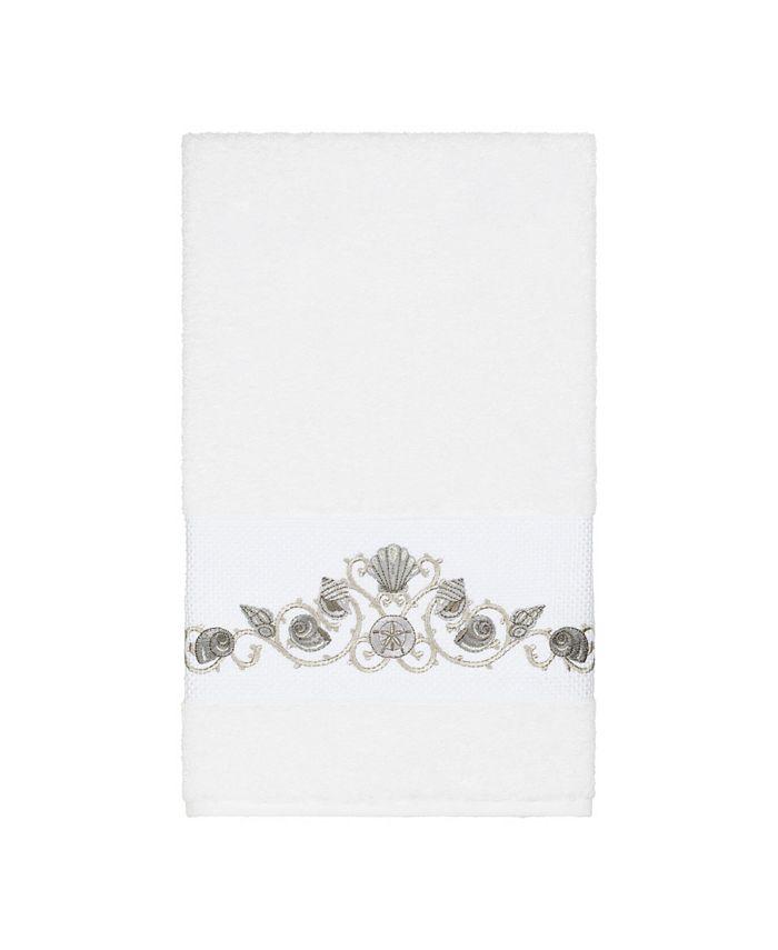 Linum Home - Bella Embroidered Turkish Cotton Bath Towel