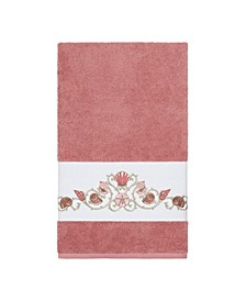Bella Embroidered Turkish Cotton Bath Towel