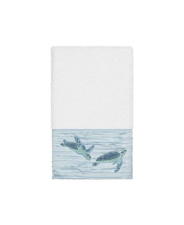 Linum Home Mia Embroidered Turkish Cotton Hand Towel
