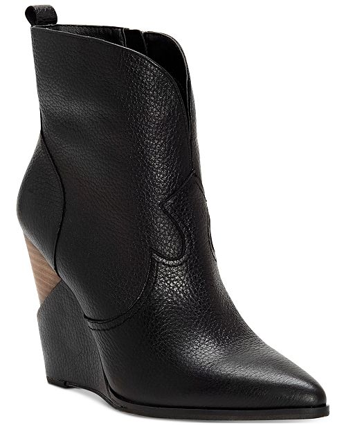 35b8d8f5f523c5 Jessica Simpson Hilrie Western Booties   Reviews - Boots - Shoes ...