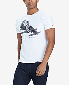 Tommy Hilfiger Men's Loungin' Lion Graphic T-Shirt, Created for Macy's