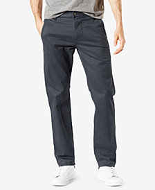 Dockers Men's Big & Tall Alpha All Seasons Tech Slim Tapered Khaki Stretch Pants