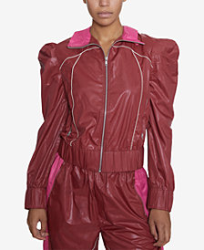 INSPR Natalie Off Duty Parachute Track Jacket, Created for Macy's