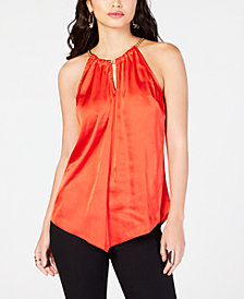 Thalia Sodi Chain-Neck Halter Top, Created for Macy's