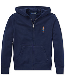 Polo Ralph Lauren Big Boys Polo Bear Fleece Hoodie