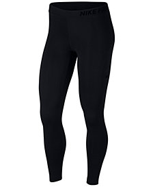 Nike Pro Warm Mesh-Trimmed Leggings