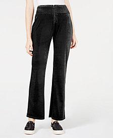 Material Girl Juniors' Velvet Soft Pants, Created for Macy's