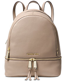 MICHAEL Michael Kors Rhea Zip Small Pebble Leather Backpack