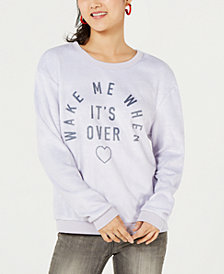 Love Tribe Juniors' Graphic-Print Sweatshirt