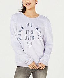 Love Tribe Juniors' Graphic-Print Sweatshirt