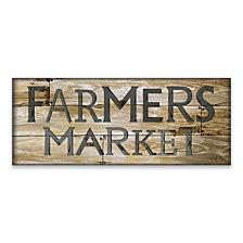 Farmer'S Market Wood, MDF Plaque