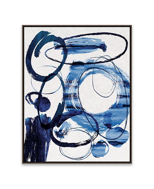 Artissimo Designs True Blue Framed Printed Canvas