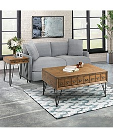 Tanner 2 Piece Occasional Table Set-Coffee Table and End Table