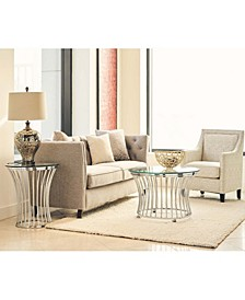 Astoria 2 Piece Occasional Table Set-Coffee Table and End Table
