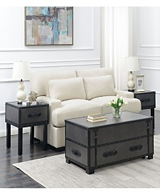 Newport 3 Piece Occasional Table Set-Table and Two End Tables