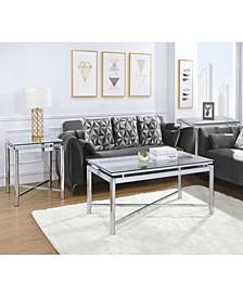 Monroe 3 Piece Occasional Table Set-Coffee Table and Two End Tables
