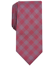 Perry Ellis Men's Kluivert Check Tie