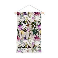 """Marta Barragan Camarasa Bouquets And Hummingbirds Wall Hanging Portrait, 22""""x32"""""""