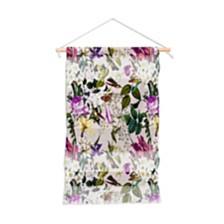 """Deny Designs Marta Barragan Camarasa Bouquets And Hummingbirds Wall Hanging Portrait, 22""""x32"""""""