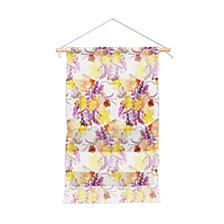 "Deny Designs Ninola Design Flowers Sweet Bloom Yellow Wall Hanging Portrait, 22""x32"""