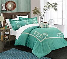 Chic Home Royalton 8 Pc Queen Duvet Set