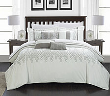 Chic Home Lauren 12 Pc Comforter Set Collection